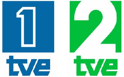 Logos de La Primera y La 2