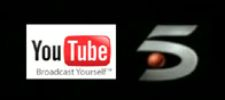 Logos de Telecinco y Youtube