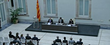 Parlamento autonómico de Cataluña