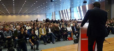 Acto de presentación del Referendo para la Independencia de Cataluña del 13 de diciembre