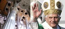 El Papa Benedicto XVI y la Sagrada Familia