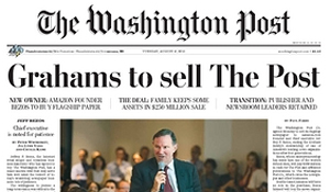 'The Washington Post' cambia de manos por 250 millones de dólares